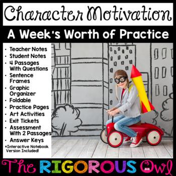 Character Motivation Bundle