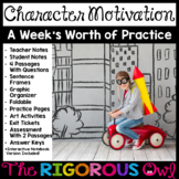 Character Motivation Week Lesson and Practice