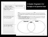 Character Motivation & Setting Graphic Organizers - Night