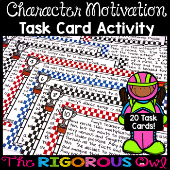 Character Motivations Worksheets Teaching Resources TpT