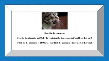 Character Motivation Writing using Pictures
