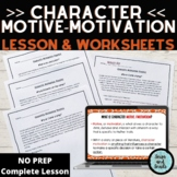 Character Motive/Motivation PPT Mini-Lesson (Grades 3-4) C