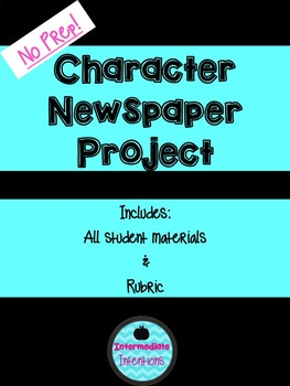 Character Newspaper Project