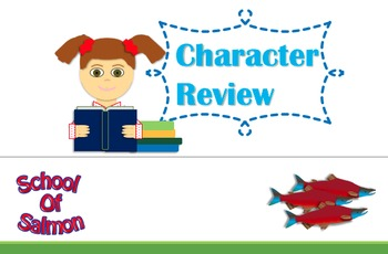 Character Newspaper Review Project