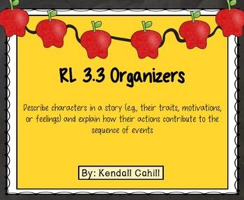 Character Organizers RL.3.3