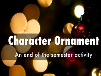 Character Ornament