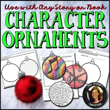 Character Ornaments for ANY Book or Story