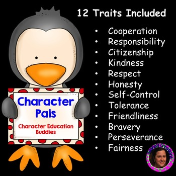 Character Pals: Character Education Buddies Awards & Posters