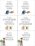 Character Partner Cards