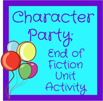 Write an Invitation to a Favorite Character: A Synthesizin