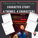 Character Perspectives: 4 Themes, 4 Characters