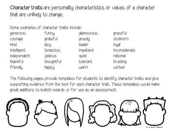 Character Perspective and Character Traits
