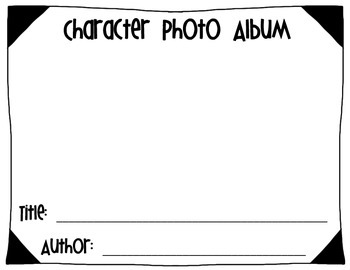 Character Photo Album