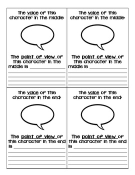Character Point of View and Voice