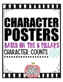 Character Education Posters {6 Pillars of Character}
