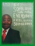 Character Poster--Kid President Themed