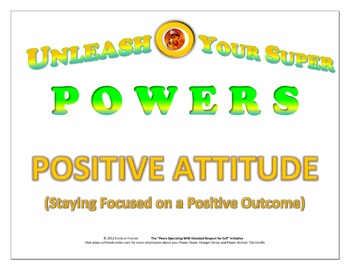 Character Poster - Positive Attitude