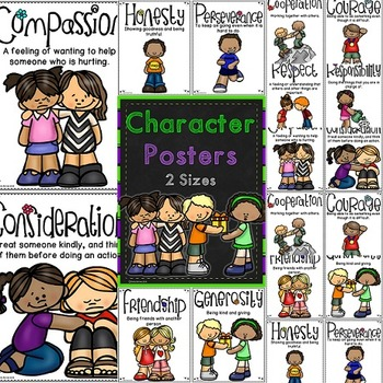 Character Qualities Posters