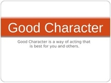 Character PowerPoint Presentation for Health