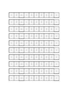 Character Practice Paper
