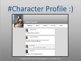 Character Profile - An English Activity (PowerPoint)