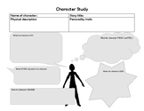 Character Profile Graphic