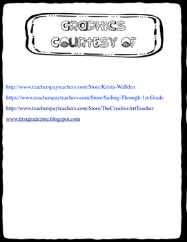 Character Profile Graphic Organizer - Ready to Print