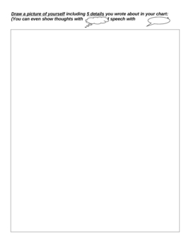 Character Profile of ME - Worksheet