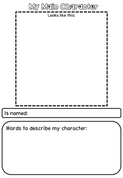 Character Profile writing prompt template