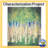 Characterization Project with Adjective List