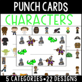 Character Punch Cards
