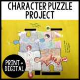 Character Puzzle Activity - Use with ANY Novel!