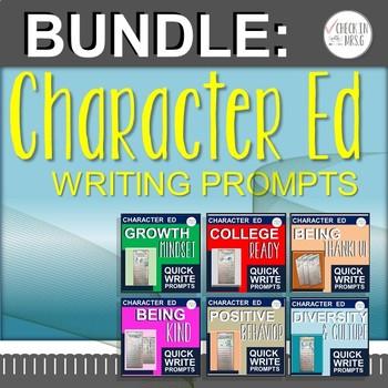 Character Quick Write Bundle