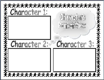 Character Reactions Plus...(19 Graphic Organizers) for Reading Lessons