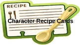 Character Recipe Cards