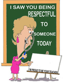 Character Recognition Certificates for a Female Teacher