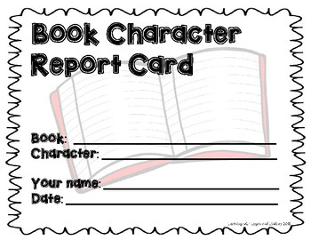 Character Report Card
