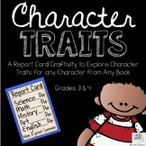 Character Traits Craftivity