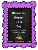 Character Report in a Bag: Hands On Character Traits Analysis