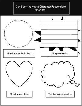 Character Response Graphic Organizer