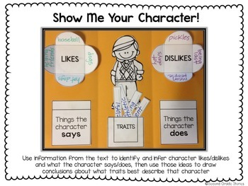 Character Graphic Organizers