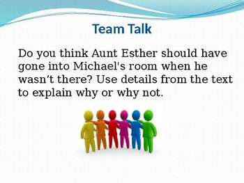 Character Response Powerpoint