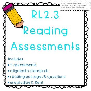Character Response Assessments - RL2.3