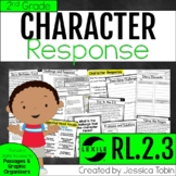 Character Response to Challenges and Events 2nd Grade RL2.