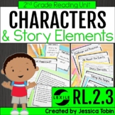 Character Response to Challenges and Events 2nd Grade RL.2.3- Story Elements