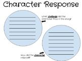 Character Response Sheet