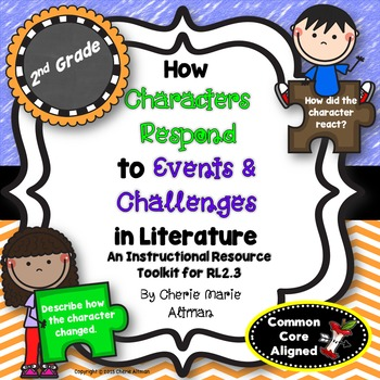 Character Response to Events & Challenges: 2nd Grade Common Core RL2.3
