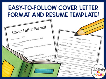 Character Resume and Cover Letter for ANY Literary Character!