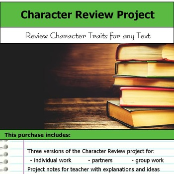 Character Review Project