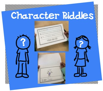 Character Riddle Printable